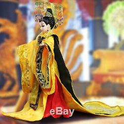 16 Chinese Cultural Play Scaled Doll Empress Regnant Wu Zetian BJD Toy Gift