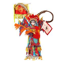 16 Chinese Cultural Play Scaled Doll Peking Opera Mu Guiying BJD Toys Gifts