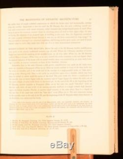 1938 First Edition Earl Baldwin Smith Egyptian Architecture Cultural Expression