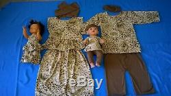 6 x Multicultural clothing and Ethnic Dressing up Costumes for children- school