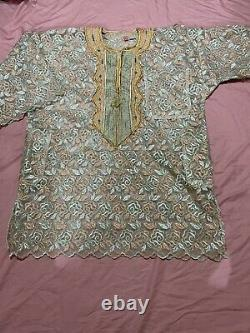 African cultural ethnic clothing african men