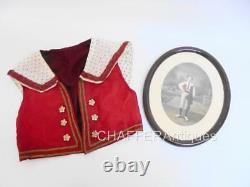 Antique Ethnic Boys WAISTCOAT of National Dress and Photo of Boy wearing it