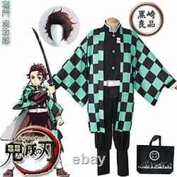 Blade stove TanJiro wig with cosplay costume festival cultural festival fancy dr