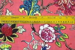 Boho 20 Yard Fabric For Clothing Bags & Accessories Ethnic Floral Craft Fabric