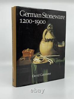 David GAIMSTER / German Stoneware 1200-1900 Archaeology and Cultural History 1st