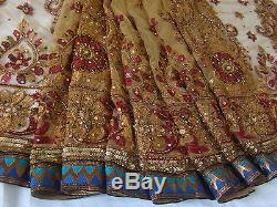 Designer Net & Georgette Saree for Eid Wedding Party Indian Bollywood Sari