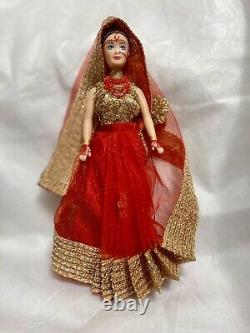 Doll With Handmade Custom Cultural Clothing One Of A Kind
