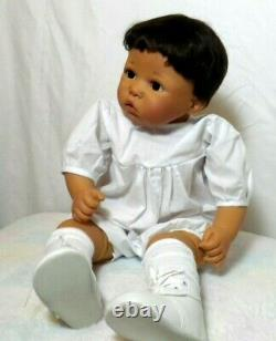 EXTREMELY RARE Gotz 22CARLOS Carin Lossnitzer Ethnic African Dark Skinned Doll