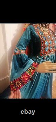 Ethnic Vintage Afghani Hand Embroidered Beautiful Clothes