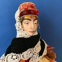 Ethnic personalised collectible doll Aristocratic lady Nare in Armenian dress