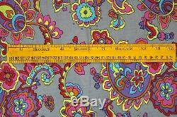 Floral Pattern Ethnic Apparel Fabric 20 Yard Boho Comforter Cover Fabric