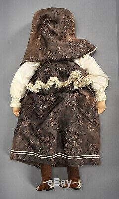 Handmade Russian Cloth Doll 29 Beautiful Ethnic Costume by ALEXANDRA MOSCOW