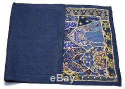 Indian Cultural Wall Hanging Old Traditional Multi-Color Tapestry. I17-133 US