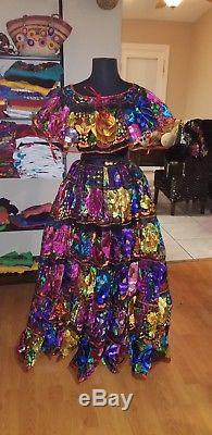 Mexican folklorico dress from Chiapas