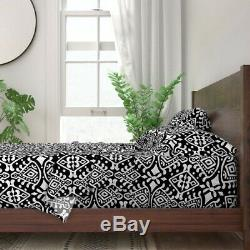 Mod Cloth Geometric Ethnic Moroccan 100% Cotton Sateen Sheet Set by Roostery