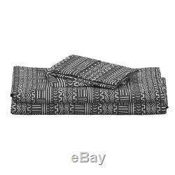 Mud Cloth Tribal African Ethnic 100% Cotton Sateen Sheet Set by Roostery