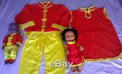 Multicultural clothing & Ethnic Dressing up Costumes box- children- school 2-4yr