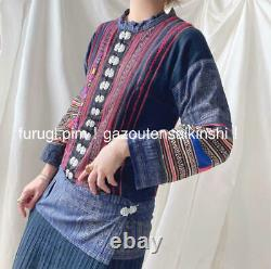No. 5940 Old Clothes Retro Long Shirt China Ethnic One Piece