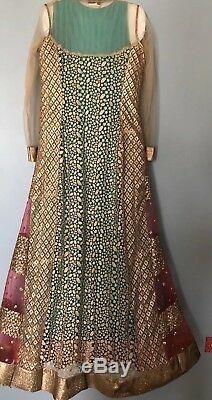 Pakistani Indian Designer gorgeous Gown dresses Bollywood Bridal Party Wear