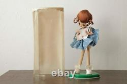 R-039659 Retro Sundries Showa Pose Doll With Cute Polka Dot Clothes Cultural