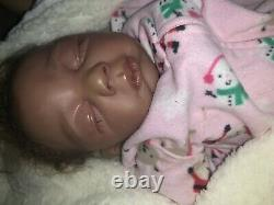 Realborn Baby Doll Ethnic African American Weighted Soft Body
