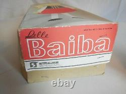 Soviet Doll BAIBA in Latvian Authentic Ethnic Clothing Plastic USSR 70s With Box