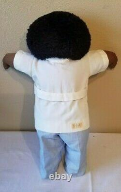 The Little People Soft Sculptures Ethnic Doll Autographed by Xavier Roberts 1981