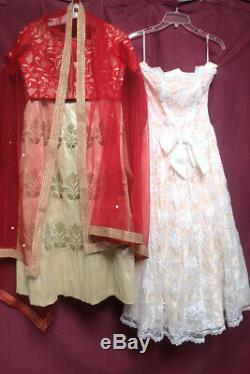 VINTAGE & ETHNIC SPRING to SUMMER CLOTHING LOT -SOME AS IS MOST XLNT CONDITION