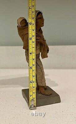 Vintage Ethnic Souvenir Mother & Child Doll W. G. Walz Co, Mexico AS IS