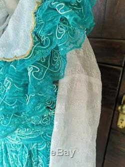 Vintage gipsy ethnic costume, women's ethnic gipsy clothes