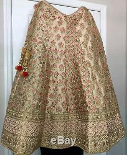 Wedding Indian Bridal Ethnic Heavy Lehenga Choli New Traditional Clothing Lengha